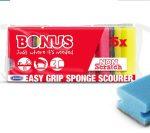 Bonus mosogatószivacs formázott - 5db