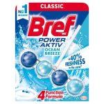 Bref Power Aktiv Ocean Breeze WC-frissítő 50 g