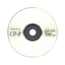 CD-R lemez 700MB papírtokos - 1db