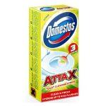 Domestos Attax öntapadós WC tisztító csík 3x10g Citrus - 30g