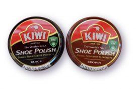 Kiwi fémdobozos cipőkrém fekete - 50ml