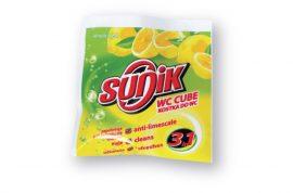 Sunik WC frissítő rúd 3in1 kosárban citrom - 35g
