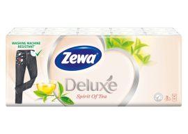 Zewa Deluxe papírzsebkendő 3 rétegű Spirit of tea - 10x10db