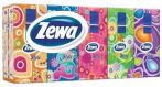 Zewa Deluxe papírzsebkendő 3 rétegű Style színes - 10x10db