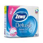 Zewa Deluxe WC papír 3 rétegű Fehér - 4tekercs