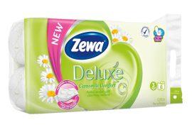 Zewa Deluxe WC papír 3 rétegű Kamilla - 8 tekercs