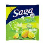 Saga teafilter zöld tea, több íz - 36g