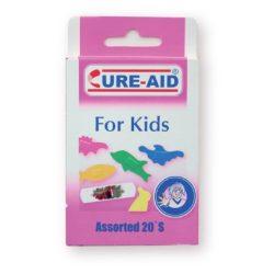 Cure-Aid sebtapasz gyerek ( vegyes állatmintás) - 10db