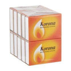 Korona svéd gyufa 10doboz/csomag - 1csomag