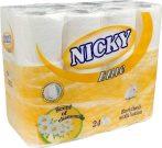 Nicky WC papír 3 rétegű kamilla - 24tekercs
