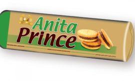 Anita Prince töltött keksz mogyorós - 125g