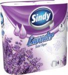 Sindy WC papír 3 rétegű Levendula - 4 tekercs