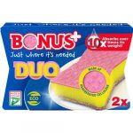 Bonus duo karcmentes mosogatószivacs - 2db