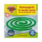 ZigZag szúnyogriasztó spirál 10db - 150g