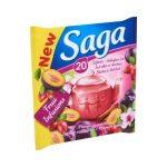 Saga gyümölcstea szilva-fahéj 30g