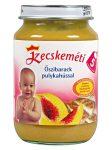 Kecskeméti bébiétel őszibarack pulykahús ízesítéssel - 190 g