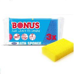 Bonus fürdőszivacs - 3db