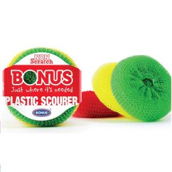 Bonus műanyagsúroló - 3db