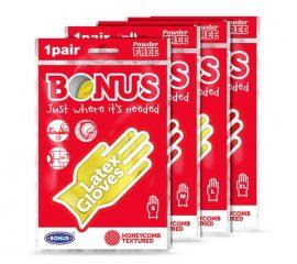 Bonus háztartási gumikesztyű L - 1db