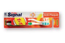 Signal fogkefe Anti-Plaque duopack - 2db