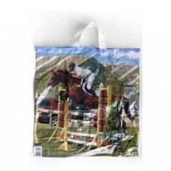 Szalagfüles táska 40x42cm normál - 1db