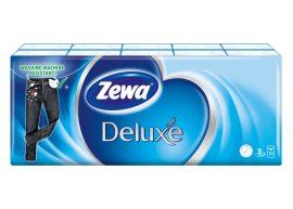 Zewa Deluxe papírzsebkendő 3 rétegű Normál - 10x10db