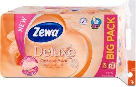 Zewa Deluxe WC papír 3 rétegű Barack - 16 tekercs