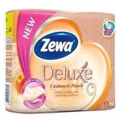 Zewa Deluxe WC papír 3 rétegű Barack - 4 tekercs