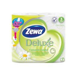Zewa Deluxe WC papír 3 rétegű Kamilla - 4tekercs