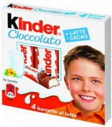 Kinder T-4 csokoládé - 50g
