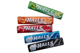 Halls cukor extra strong - 33,5g