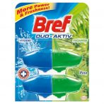 Bref Duo Aktiv toalett frissítő utántöltő Pine - 2x50ml
