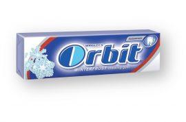 Orbit rágó Winterfrost- sötétkék 10db drazsé