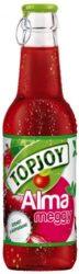 Topjoy rostos üdítő üv. 0,25l meggy-alma 20% - 250ml