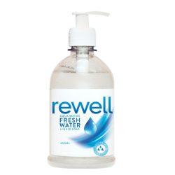 Rewell folyékony szappan Fresh water - Antibakteriális - 400ml