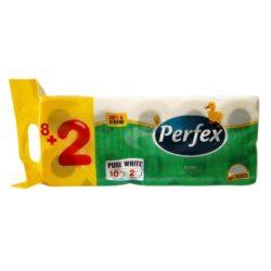 Perfex Boni WC papír 2 rétegű - 8+2tekercs