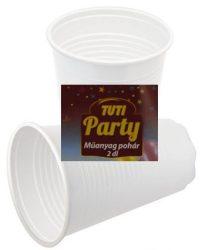Tuti party pohár 2 dl - 20db