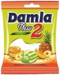Damla töltött puhakaramell sárgadinnye-ananász ízű - 90g