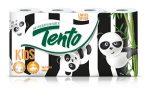 Tento kids happy pandas wc papír 3 rétegű - 8tekercs