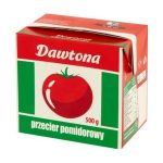 Dawtona sűrített paradicsom tetrapack - 500g