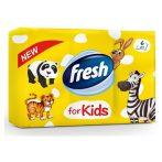 Fresh illatos papírzsebkendő Kids - 6x10db