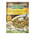 Lacikonyha zöldborsóleves csipetkével 4 tányéros - 77g
