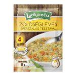Lacikonyha zöldségleves eperszalag tésztával 4 tányéros - 52g