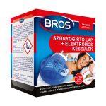 Bros elektromos szúnyogriasztó készülék 10db lapkával - 1db