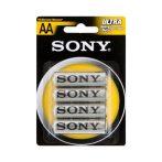Sony ceruza elem AA  1,5V - 4db