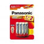 Panasonic ceruzaelem AAA LR03 - 6db