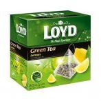 Loyd piramid tea green lemon - 30g