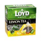 Loyd piramid tea black lemon - 34g