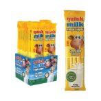 Quick Milk ízesített szívószál vaníliás 30g