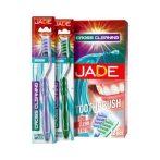 Jade fogkefe cross cleaning medium - 2db